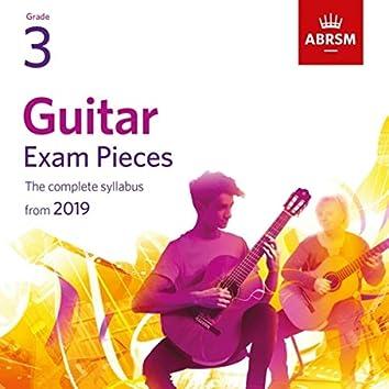 Guitar Exam Pieces from 2019, ABRSM Grade 3