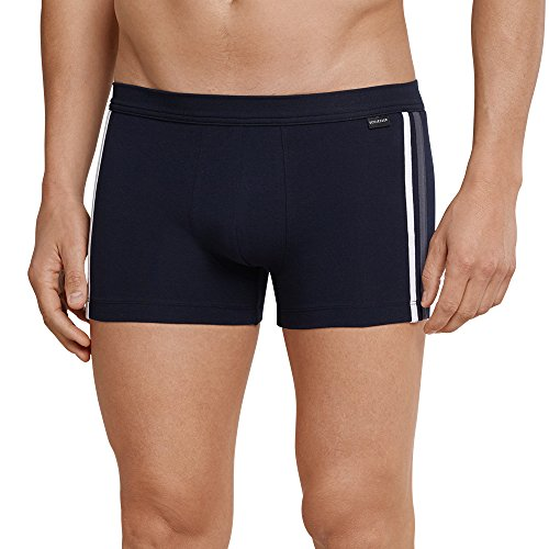 Schiesser Herren Shorts Boxershorts, Blau (Dunkelblau 803), XXX-Large