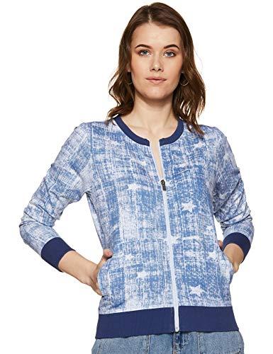 Pepe Jeans Women's Sweatshirt (PL580802_Blue_L)