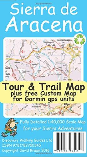 Sierra de Aracena Tour & Trail Map