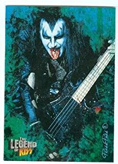 Gene Simmons trading card Kiss The Legend 2010 #4