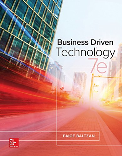 Loose Leaf for Business Driven Technology