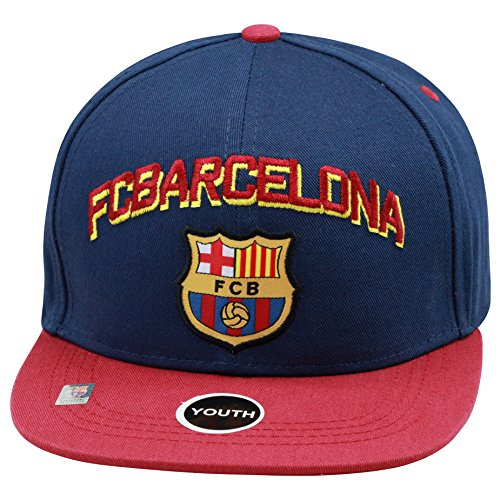 Fc Barcelona Snapback Youth Kids Adjustable Cap Hat - Blue - Maroon -Red New Season