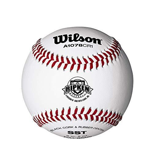 Wilson Youth League and Turnier Baseballs, A1078, RS, Cal Ripken, League (EIN Dutzend)