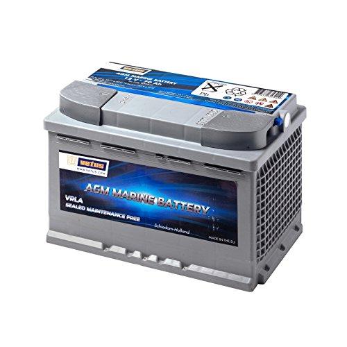 Vetus AGM-Batterie 12V/70Ah