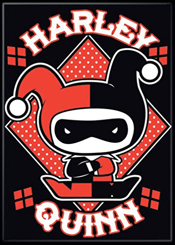 51qvmLo5k7L Harley Quinn Magnets