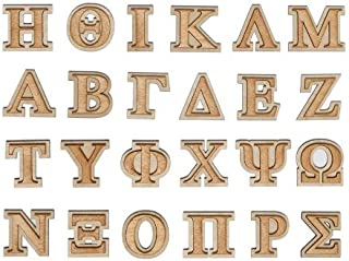 Decorative Wooden Greek Letters (Double Layer) (PHI)