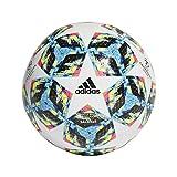 adidas Jungen Finale SAL5x5 Turnierbälle für Fußball, top:White/Bright Cyan/solar Yellow/Shock...