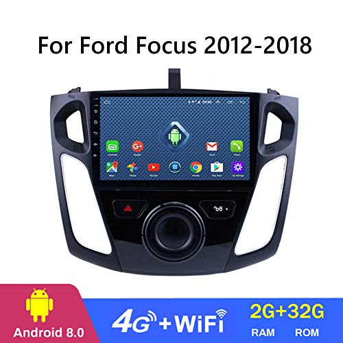 Dr.Lefran 9 Inch 2.5D Android 8.1 Car DVD GPS Player for Ford Focus 2012-2018 Car Radio Stereo Head Unit Navigation,4g+WiFi 2g+32g