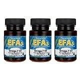 Swanson Omega-7 Oil from Sea Buckthorn Oil 450 mg 30 Liq Caps 3 Pack