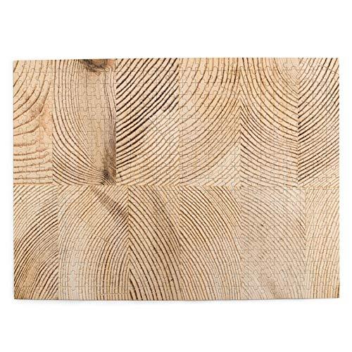 Lichenran Jigsaw 500 Pezzi per Gli Adulti,Struttura in Legno Sfondo Struttura Industriale del legname,uzzle per Bambini Puzzle Adulti,Gioco familiare,Festa Aziendale,Regalo per Amore e Amico