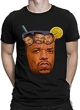 Ice-T with Ice Cube Funny Rap T-Shirt, Ice Tea Hip-Hop Tee