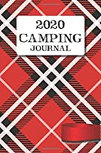 Camping Journal: Travel Camping Journal Monthly Calendar RV Trailer Campsites Campgrounds Logbook Record Your Family Kids Adventures Log Book Road ... Camper Journey Prompts for Writing Gift Idea