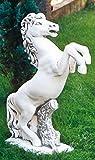 Pferd aufrecht (S132) Gartendeko Tierfiguren Steinguss Steinfigur 100 cm