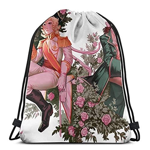 jiadourun Bolsas de cuerdas The Garden Mochila Paquete de saco de gimnasio Paquete de cincha sólido Sinch Sack Sport String Bag con bolsillo Bolsa de playa Regalo para hombres