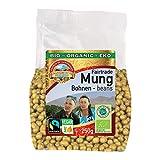 Fagioli Mungo verdi biologici 1,5kg BIO Fairtrade commercio equo e solidale, senza glutine, senza OGM, germinabili, ideali per germogli di soia, meravigliosi fagioli dell'Uzbekistan 6x250g