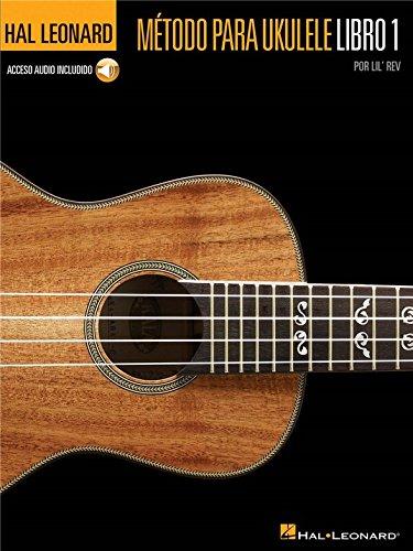 Hal Leonard Ukulele Method Book 1 (Spanish Edition). Partitions, CD pour Ukelele