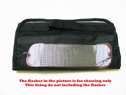 KUFA SPORTS Vented Flashers Organize Bag with 6 Separated Storage