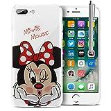 Funda transparente de silicona con diseño de dibujos animados Disney para Apple iPhone 5, 5S y SE, de la marca VComp-Shop
