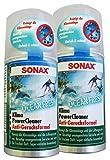 Preisjubel 2 x SONAX KlimaPowerCleaner Ocean-Fresh 100ml, Klimaanlagenreiniger, Klimagerät