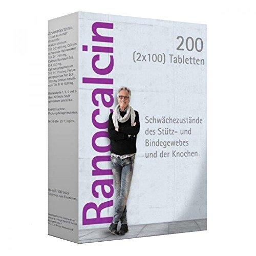 Ranocalcin Tabletten bei Schwächezuständen des Stütz- und Bindegewebes, 200 St. Tabletten