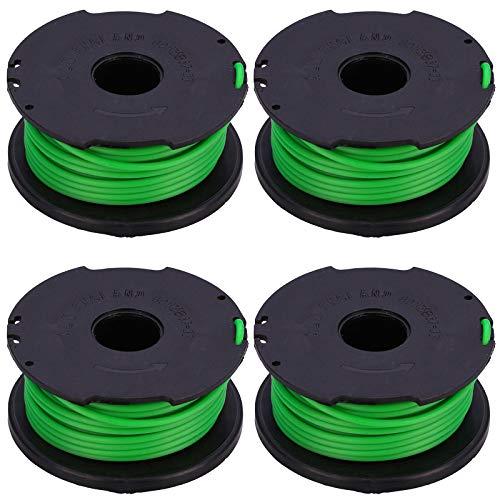 Spares2go Nachfüllspule und Faden für Black + Decker GL7033 GL8033 GL9035 STB3620L Rasentrimmer (4 Stück)