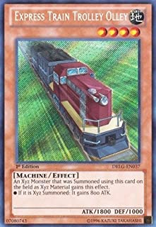 Yu-Gi-Oh! - Express Train Trolley Olley (DRLG-EN037) - Dragons of Legend - Unlimited Edition - Secret Rare by Yu-Gi-Oh!
