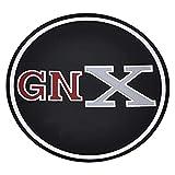QRP RG10255 - Black Wheel Center Cap Emblem With GNX Logo