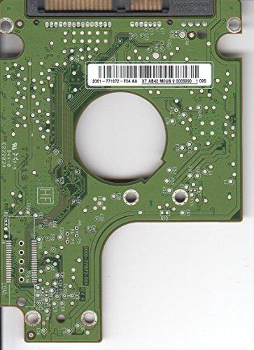 WD3200BEVT de 75zct2, 2061–771672de F04AA, WD SATA 2.5Escalera Placa (PCB)