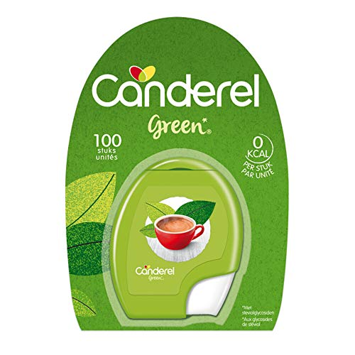 Canderel Green Zoetjes Stevia, 100 Stuk, 100 Tablet