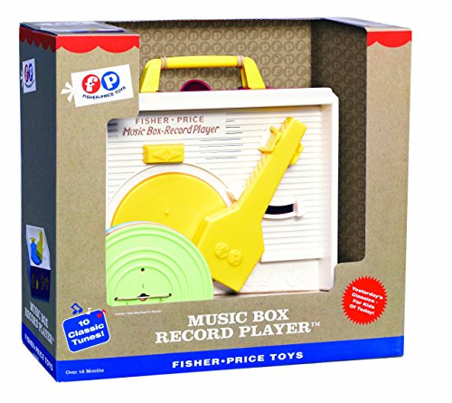 Fisher Price Classics Retro Record Player (Renewed)