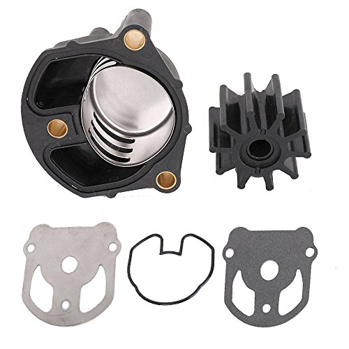 KanSmart Water Pump Impeller Kit 18-3348 for OMC Cobra with New Housing Replaces OE# 984461 983895 984744