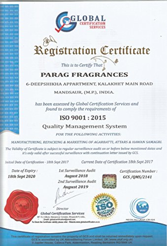 Parag fragrances Natural & Long Lasting Attars Gift Collections Of (3Ml*12Pc)