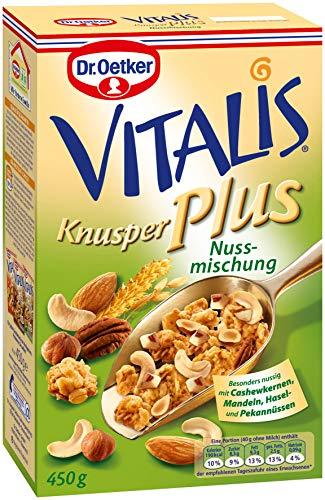 Dr. Oetker Vitalis Knusper Plus Nuss Mischung 450g