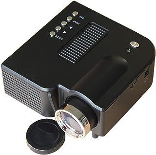 أنظمة المسرح المنزلي JHMJHM UC28+ جهاز العرض الصغير 200 لومن LED 320x240 دقة جهاز عرض فيديو الوسائط المتعددة، مسافة الإسقا...