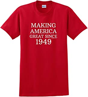 Birthday Gifts For All 70th Making America Great Since 1949 T-Shirt