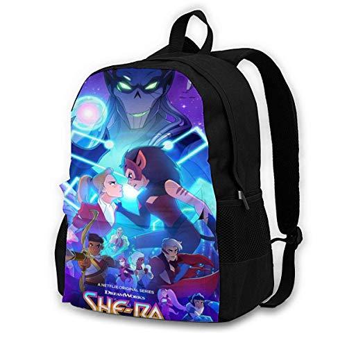 Mochila Mochila de Viaje Shera Print Fashion Backpack School Bag Large Capacity Travel Bag Climbing Bag