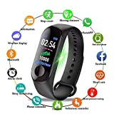 Muller M3 Band Smart Band Wireless Sweatproof V4.2| Fitness Band|Activity Tracker| Blood Pressure| Heart Rate Sensor| Sleep Monitor| Step Tracking All Android Device