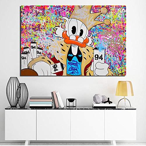 LDTSWES Rompecabezas de pato honesto, rompecabezas de dibujos animados de madera 1000 piezas, para niños juguetes educativos mejor regalo decoración del hogar rompecabezas