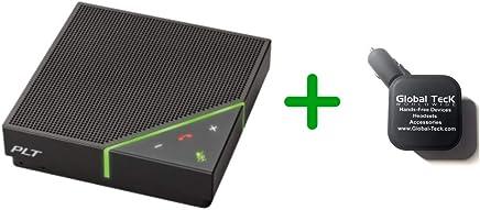 $229 » Plantronics Calisto 7200 Bluetooth Speakerphone | PC Software Apps - Skype, RingCentral, USB, Bluetooth | USB and Bluetooth Deskphones - Polycom VVX USB Phones -207913-01-B (Basic Bundle)