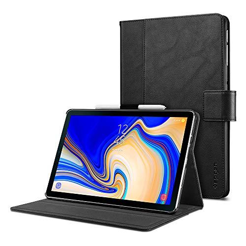 Spigen Stand Folio Designed For Samsung Galaxy Tab S4 Case - Black