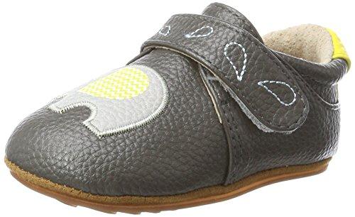 Rose & Chocolat Chaussures Bébé Zigzag Elephant Gris Taille 17/18 cm
