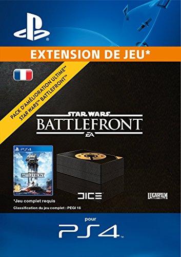 Pack d'amélioration ultime STAR WARS Battlefront DLC [Code Jeu PSN PS4 - Compte français]