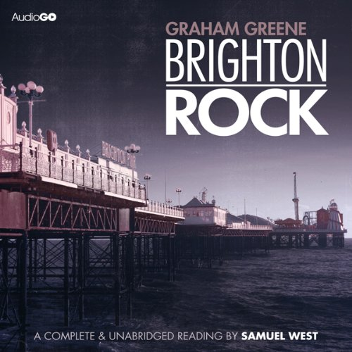 Brighton Rock audiobook cover art