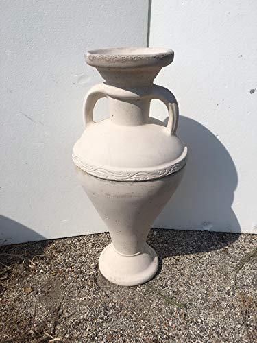 Amphore aus Beton, Vase, Blumen, Gartenzubehör, Größe H 95 cm.