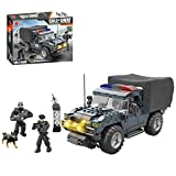 City SWAT Building Blocks 469 Pieces for Kids, DIY Police Off-Road Vehicle Bricks Educational Construction Toy Compatible with Lego