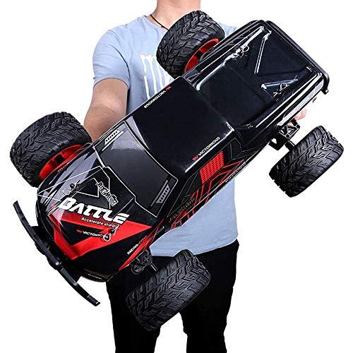 Modelo de coche 1:10 gigante 4WD aleación grandes pies fuera de la carretera de coches de control remoto, Escalada 2.4Ghz electrónico Salvaje alta velocidad 35 km / h Drift coche recargable de la much