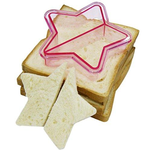 Igemy enfants DIY déjeuner Sandwich Toast Biscuits Moule à gâteau Pain Biscuit Nourriture Cutter moule b