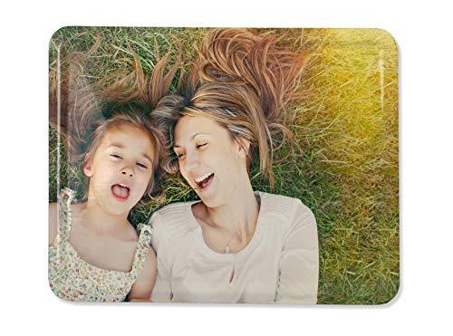 Hochwertiger Magnet mit eigenem Foto - Fotomagnet 6x8 cm - Querformat - metallische Oberfläche - individuelle Gestaltung
