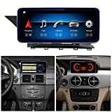 Road Top Android 10 Car Stereo 10.25' Car Touch Screen for Mercedes Benz GLK Class X204 GLK250 GLK300 GLK350 2009-2015 Year,with Wireless Carplay Split Screen 4GB RAM Navigation Function